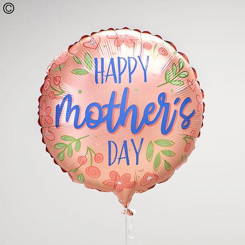 Happy Mothers Day Helium Balloon