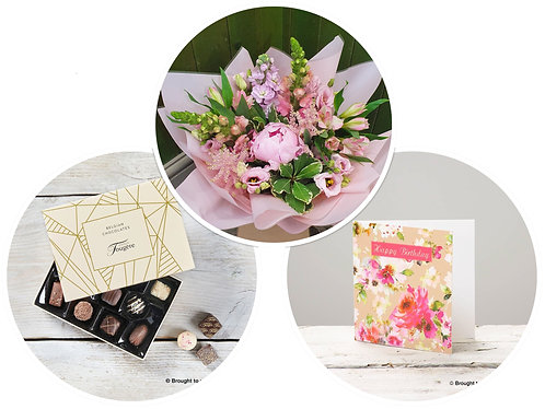 Florist's Choice Birthday Gift Set