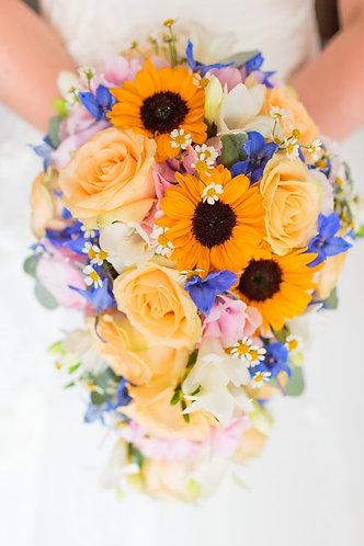 wedding shower bouquet.