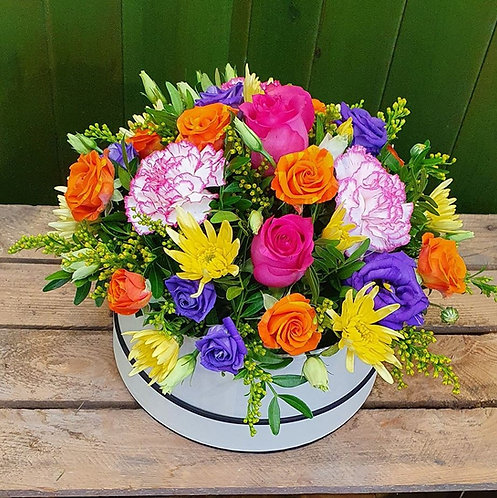 Florist Choice Hat Box