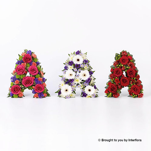 Loose flower Funeral Tribute Letter