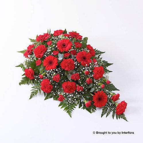 Carnation and Germini Teardrop Spray