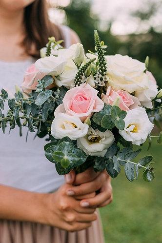Wedding bouquet- pastels.