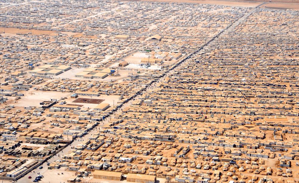 מחנה הפליטים הסורי זעתרי בירדן