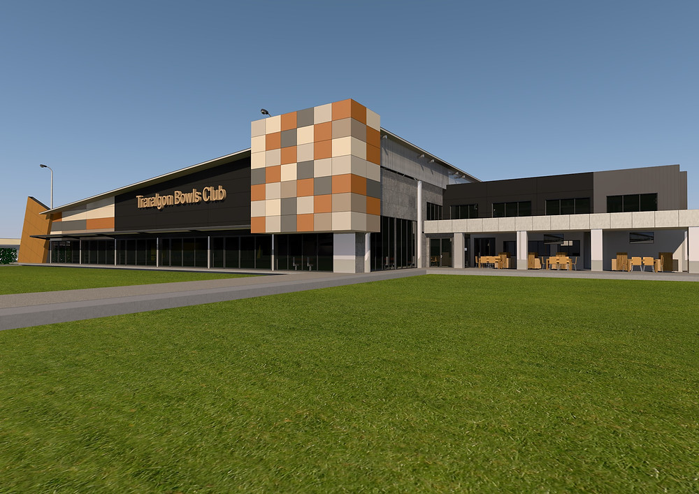 The Traralgon Bowls Club will be nearing completion shortly