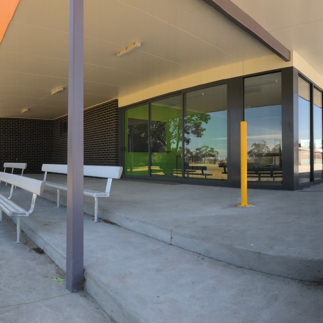 Morwell Rec Reserve Pavilion
