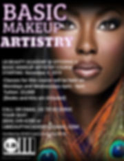 2019 Basic Makeup Artistry - Made with P