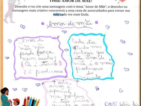 1° CONCURSO DE DESENHO E MENSAGEMCRIATIVA - GRUPO LLINEA