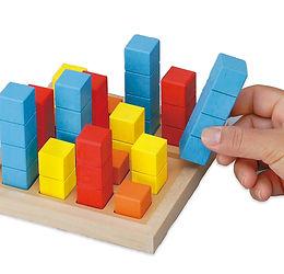 志文舎のパズル道場ビルディング