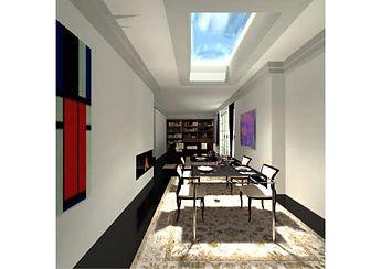 Penthouse  Essbereich / Zona comedor ático