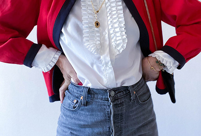 veste nina ricci vintage | Hier Store