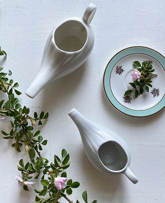 lot saucers porcelaine blanche digoin