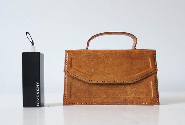 mini sac cuir vintage | Hier Store