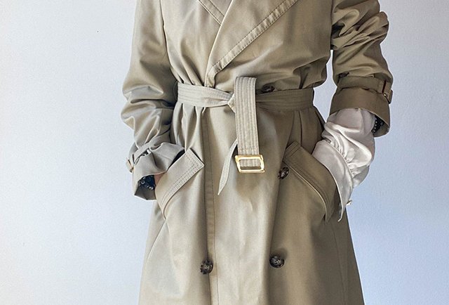 trench vintage France marque Blizzand
