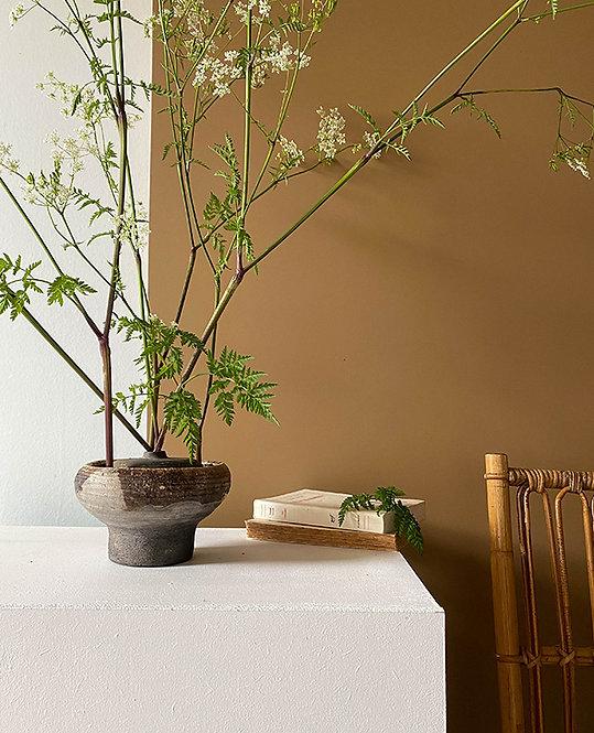 ancien vase pique fleurs raku   lovmint