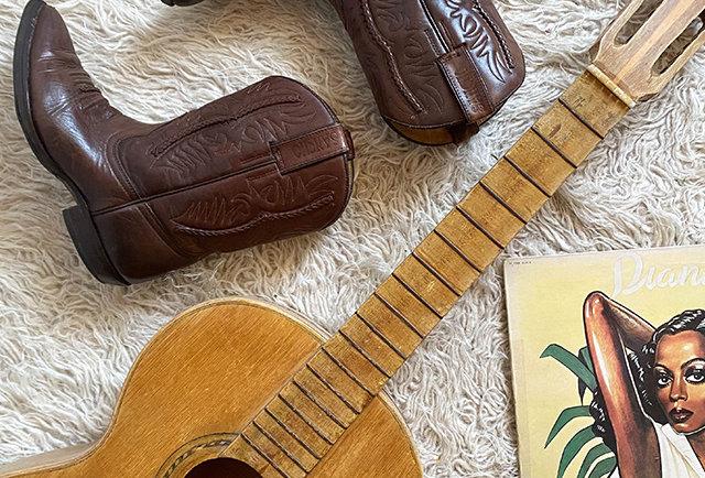 vintage boots Sancho leather | hier store