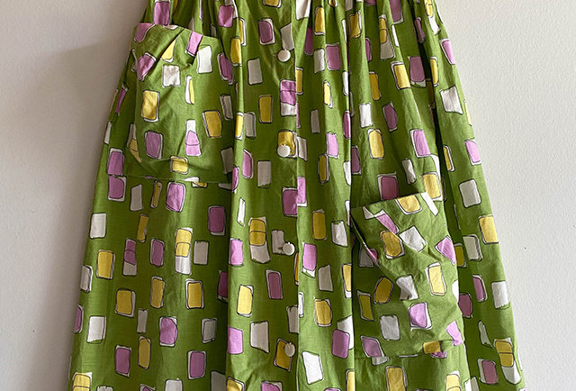 jupe midi vintage taille XS   made in France