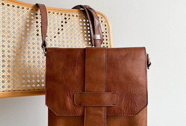 sac cuir vintage le tanneur   Hier Store