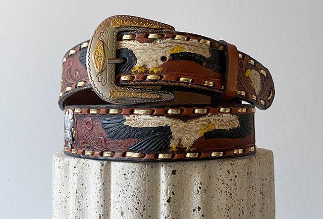 ceinture cuir mexicaine fait main