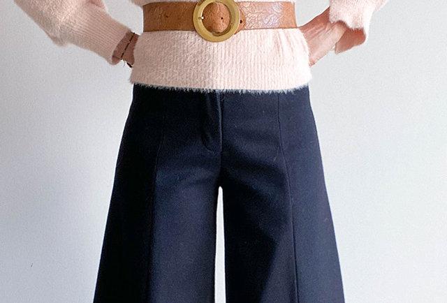 jupe culotte laine Yoshi Kondo