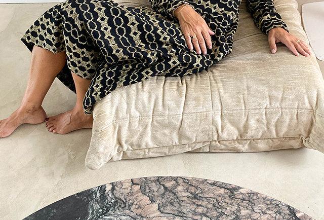 robe longue vintage | Hier store
