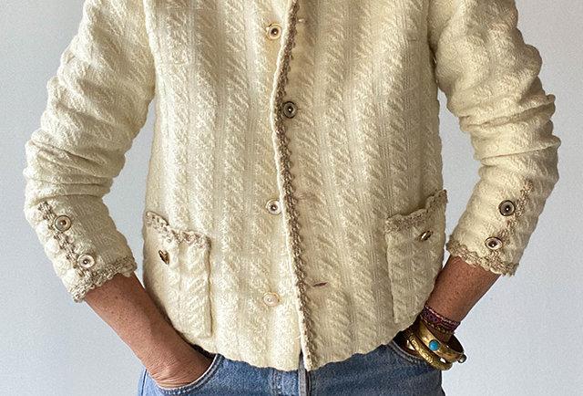 veste tweed Chanel vintage | Hier store