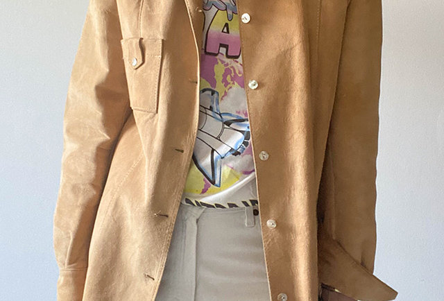 vintage clothing made in France