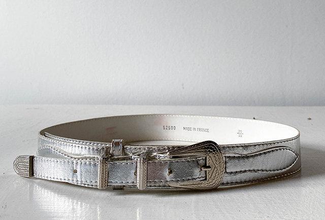 ceinture western argent vintage | Hier Store