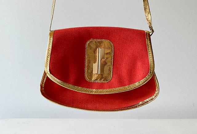 sac cross body vintage Jacques Esterel | Hier store