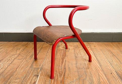 chaise enfant vintage Jacques Hitier