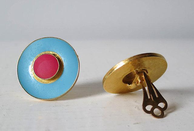 Boucles d'oreilles clip vintage