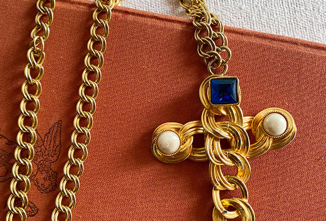 COLLIER CROIX CHARLY