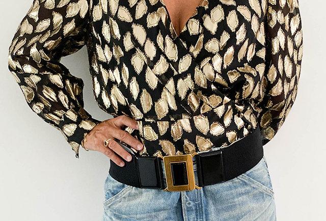 blouse eighties vintage or