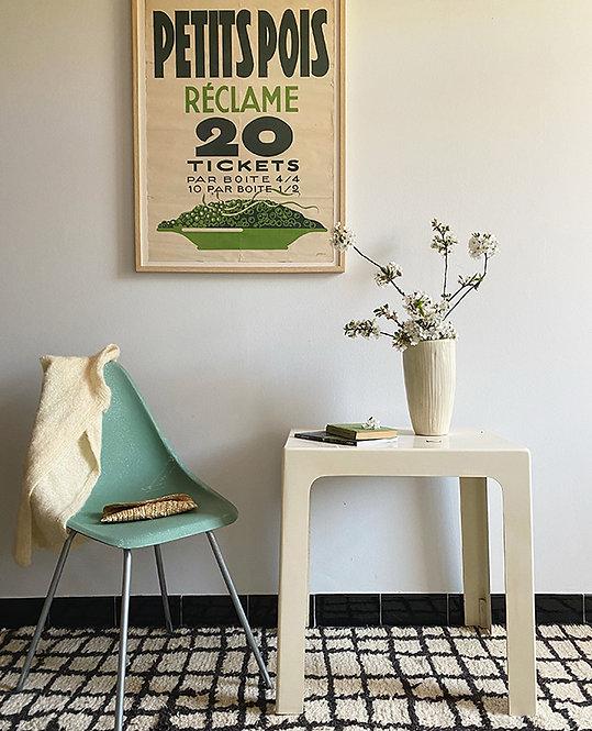 table appoint vintage fibre verre | lovmint