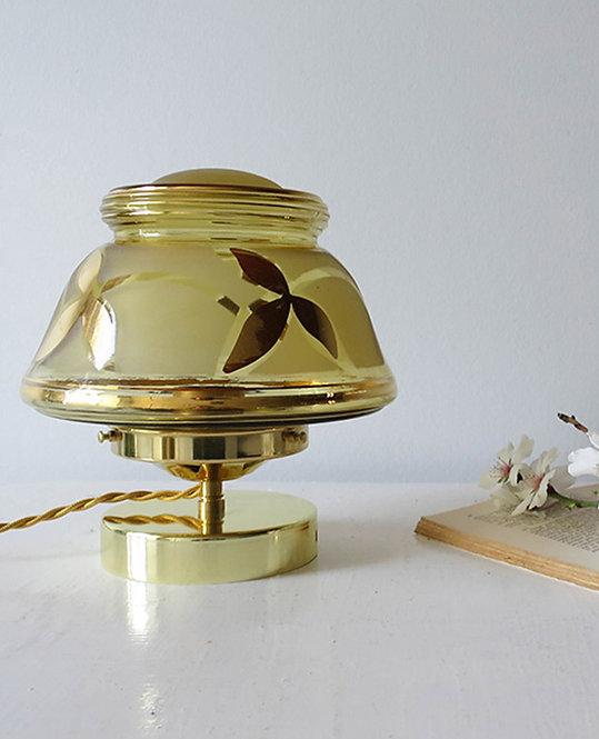globe vintage dore bronze art deco