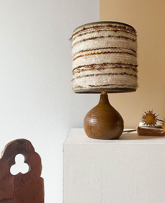 lampe chevet gres artisanat france