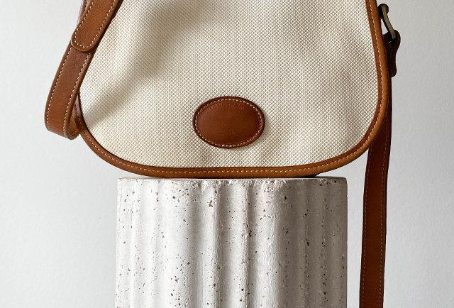 sac besace Longchamp vintage | Hier Store