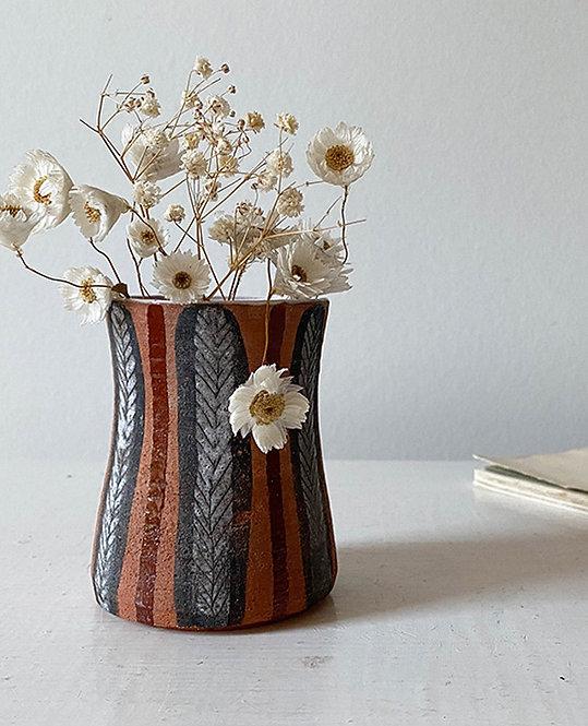 pot ceramique artisanale 1950