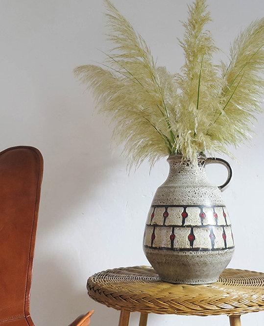 Ancien vase Fat Lava pour Jasba Keramik