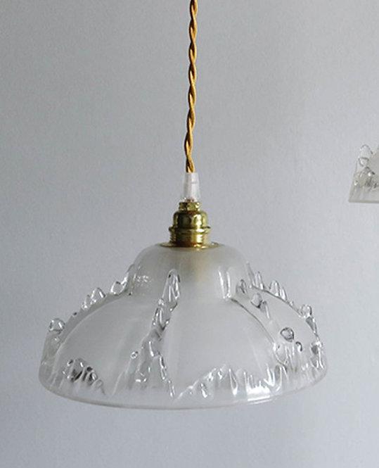 suspension globe art deco vintage