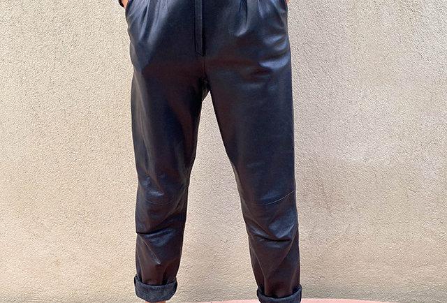 pantalon vintage taille haute   Hier store