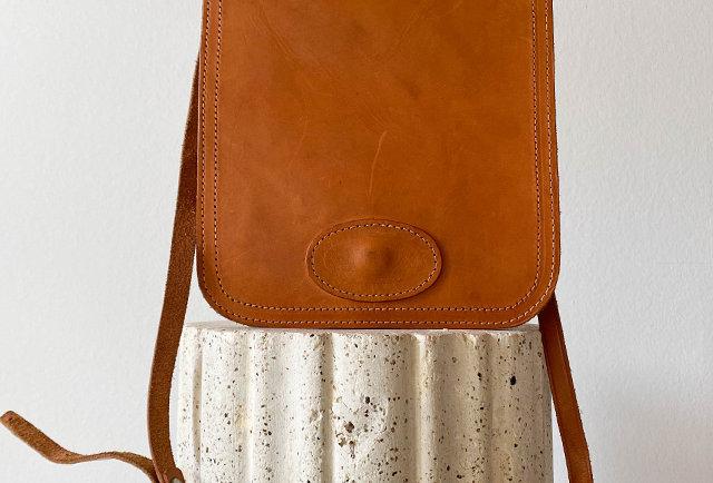 sac en cuir fait main vintage | Hier Store