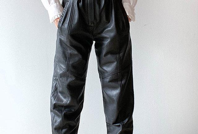 pantalon cuir vintage | Hier Store