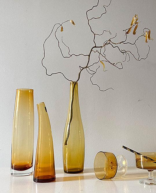 anciens vase verre ambre Leonardo