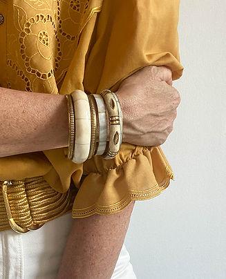 anciens bracelets joncs ivoire laiton.jpg