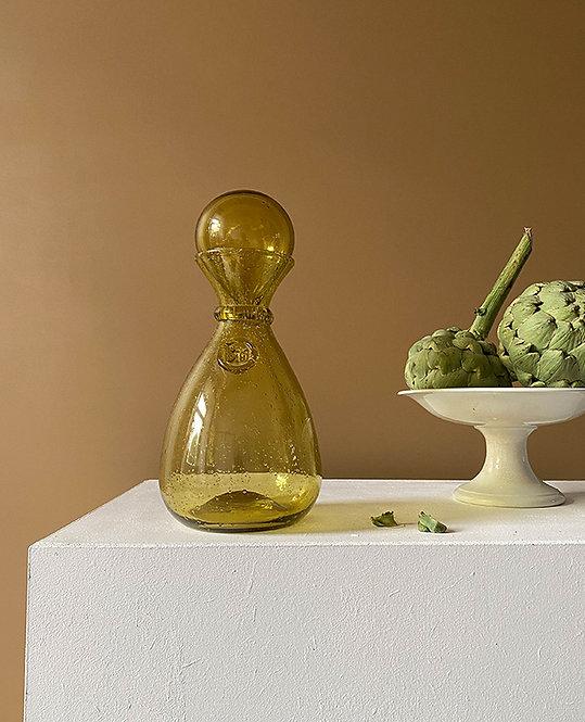 carafe vintage verre souffle   Maison Biot