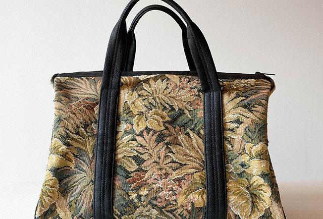 sac vintage jacquard tapisserie vintage