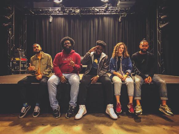 The team @ Q-Factory Amsterdam