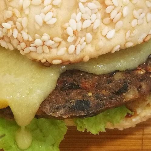 Adlai and Black Bean Burger