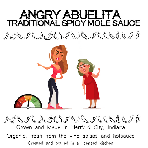 Angry Abuelita Traditional Spicy Mole Sauce